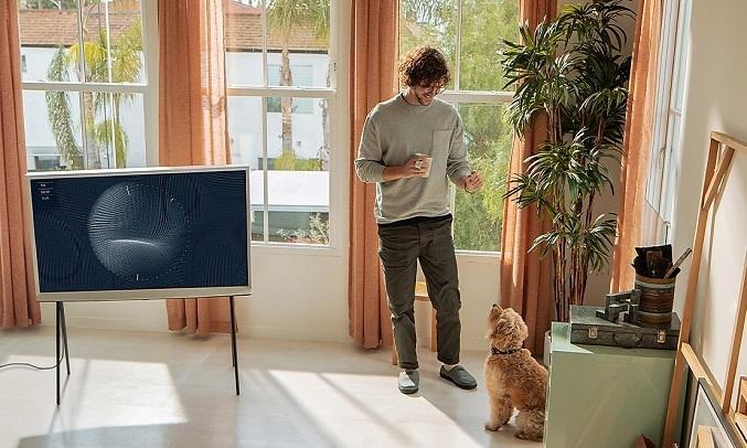 Smart Tivi QLED Samsung 4K 55 inch QA55LS01TAKXXV - Âm thanh sống động