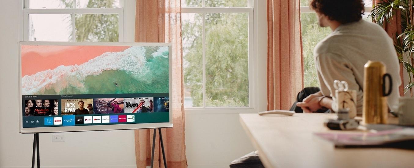 Smart Tivi QLED Samsung 4K 55 inch QA55LS01TAKXXV - Thiết kế tinh tế