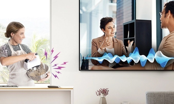 Smart Tivi QLED Samsung 4K 65 inch QA65Q80TAKXXV - truyền tải trọn vẹn từng câu hội thoại