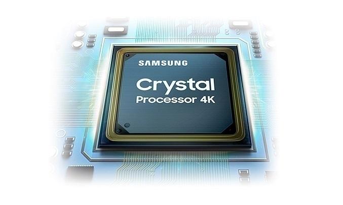 Smart Tivi Samsung Crystal UHD 4K 50 inch UA50AU7000KXXV - Bộ xử lý Crystal 4K