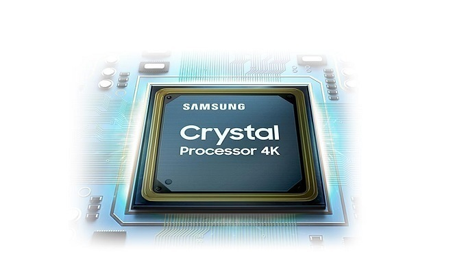 Smart Tivi Samsung 4K 50 inch UA50TU8000KXXV - Bộ xử lý Crystal 4K