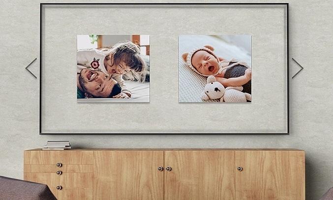 Smart Tivi Samsung 4K 55 inch UA55TU8500KXXV - chế độ hình nền Ambient Mode