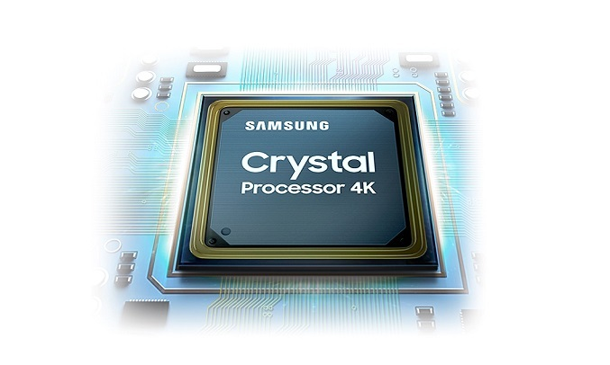 Smart Tivi Samsung Crystal UHD 4K 50 inch UA50AU9000KXXV - Bộ xử lý Crystal 4K