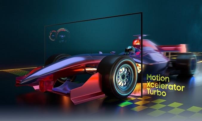 Smart Tivi Samsung Crystal UHD 4K 50 inch UA50AU9000KXXV - Công Nghệ Motion Xcelerator Turbo