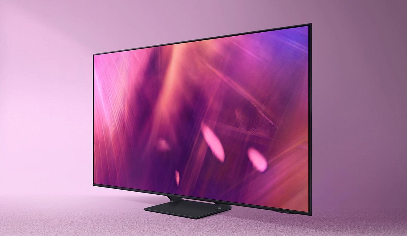 Smart Tivi Samsung Crystal UHD 4K 50 inch UA50AU9000KXXV - Thiết kế Airslim