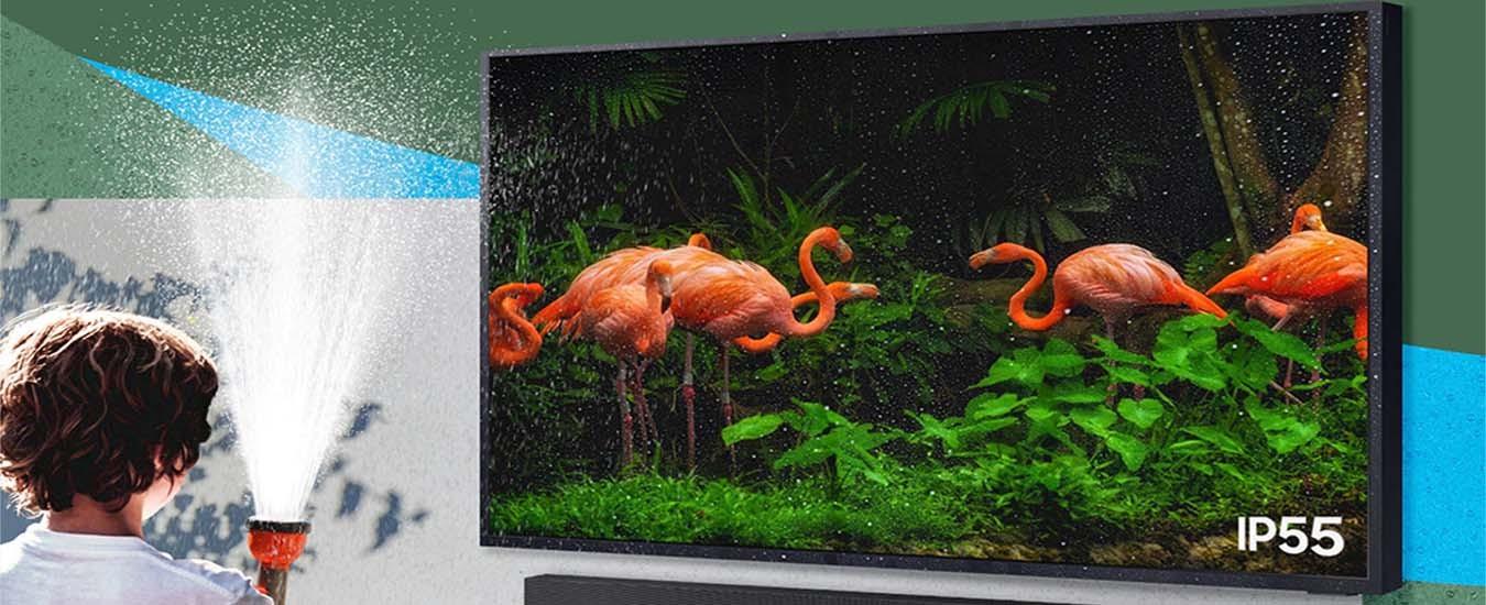 Smart Tivi Samsung 4K 65 inch QA65LST7TAKXXV Chống chịu bền bỉ với thời tiết