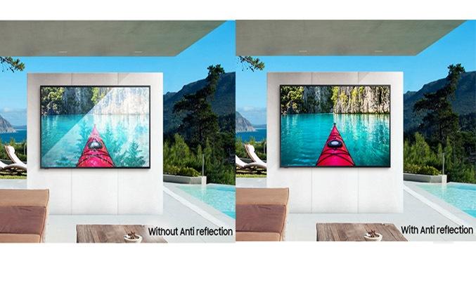 Smart Tivi Samsung 4K 65 inch QA65LST7TAKXXV Công nghệ chống phản chiếu ánh sáng