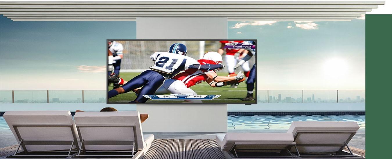Smart Tivi Samsung 4K 75 inch QA75LST7TAKXXV Chất lượng HDR vượt trội