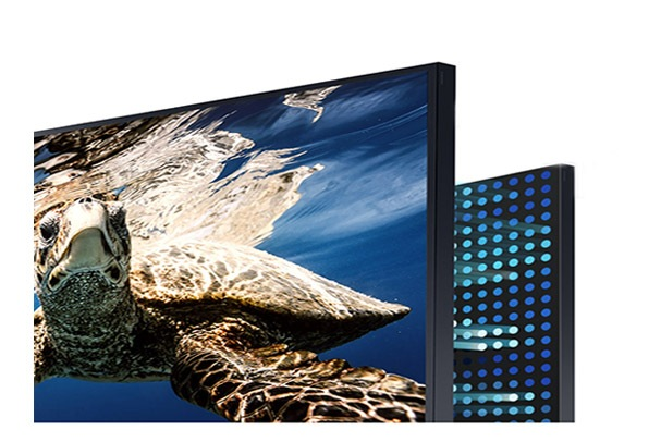 Smart Tivi Samsung 4K 75 inch QA75LST7TAKXXV Độ tương phản ấn tượng