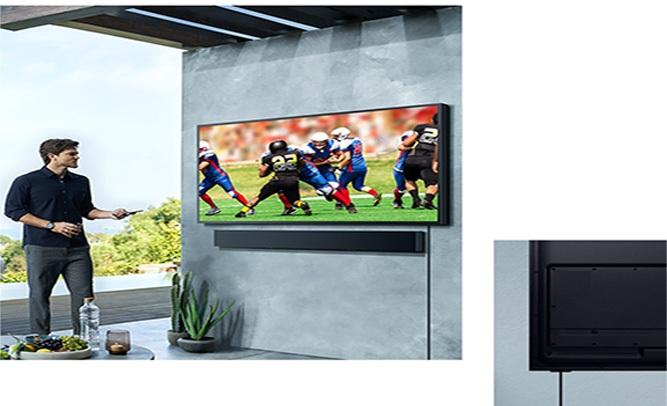 Smart Tivi Samsung 4K 75 inch QA75LST7TAKXXV Kết nối liền mạch, nhanh chóng