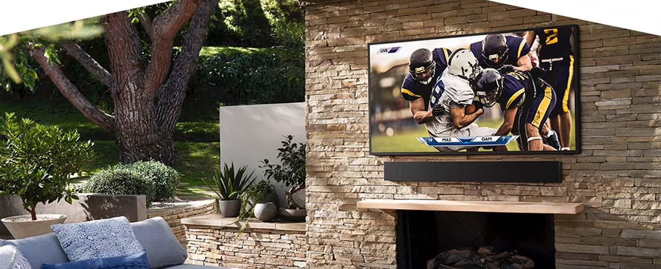 Smart Tivi Samsung 4K 75 inch QA75LST7TAKXXV độ sáng vượt bậc