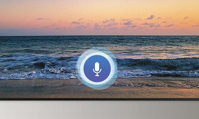 Smart Tivi Samsung 4K 43 inch UA43TU8500KXXV điều khiển bằng giọng nói
