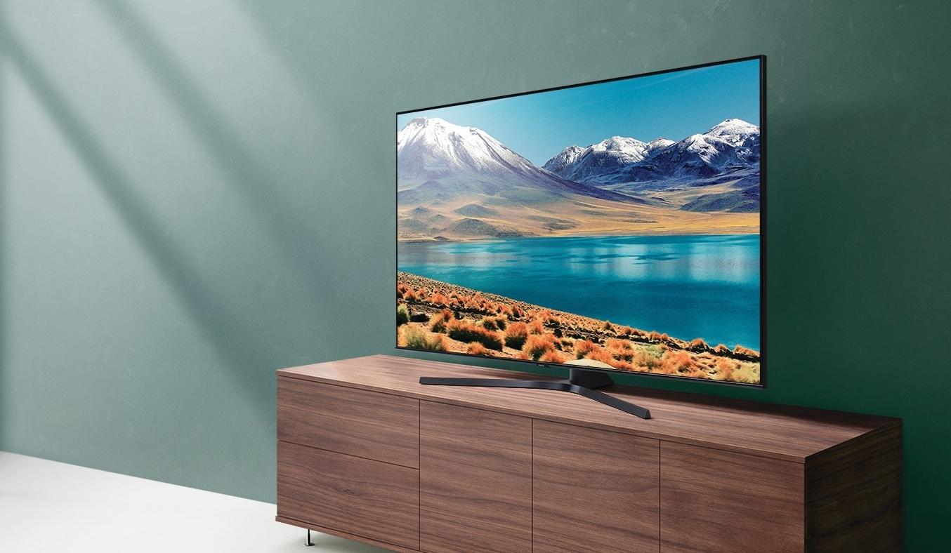 Smart Tivi Samsung 4K 50 inch UA50TU8500KXXV tuyệt tác thiết kế
