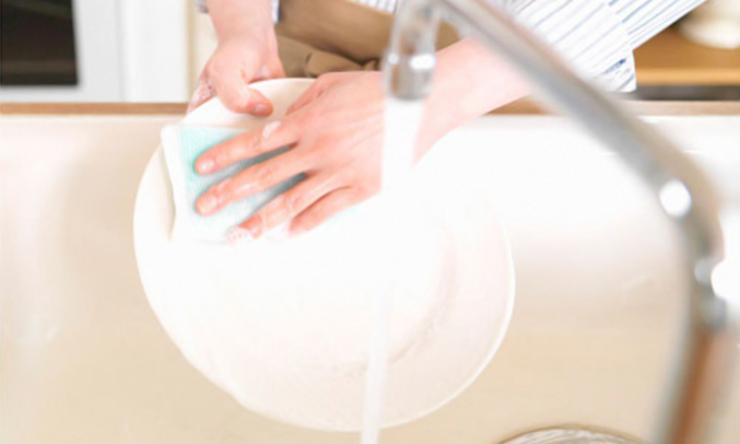 Nước rửa chén Wai Rokie Vkhông gây kích ứng da