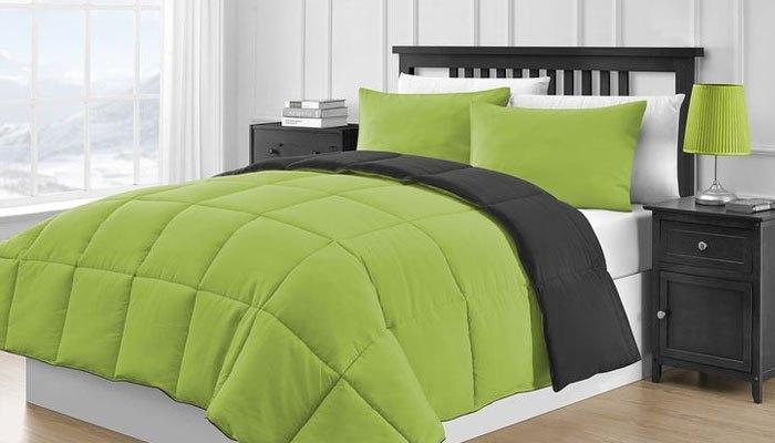 Bộ drap màu xanh lá cây giúp giảm căng thẳng