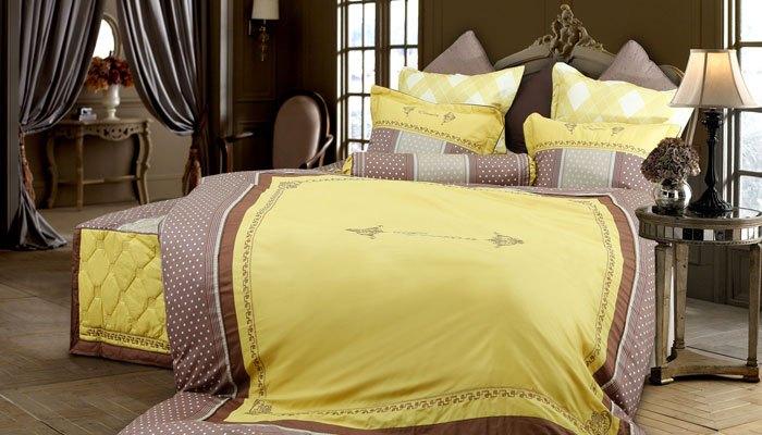 Người bị trầm cảm không nên dùng bộ drap màu vàng