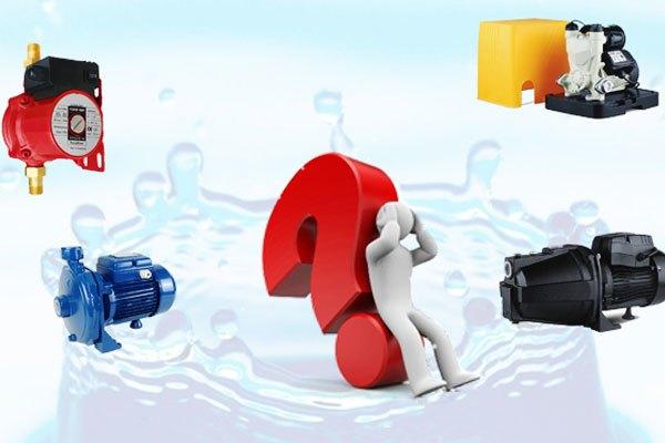 Đặc điểm nguồn nước gia đình sẽ tác động trực tiếp đến việc chọn mua máy bơm nước