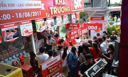 Nhiều ưu đãi hấp dẫn nhân ngày khai trương Trung tâm mua sắm Nguyễn Kim