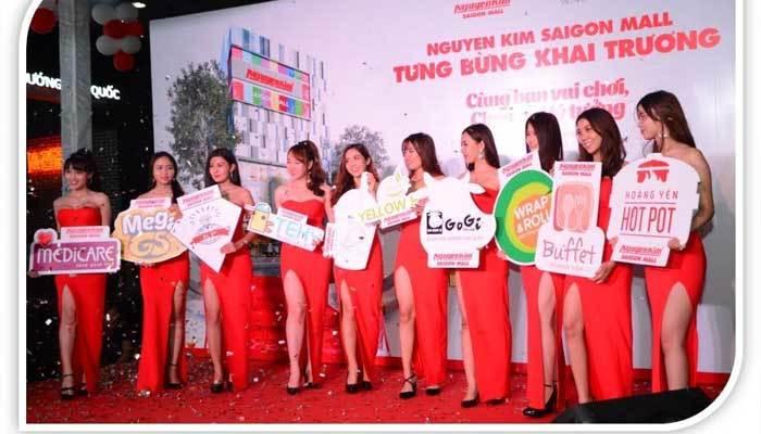 Các thương hiệu uy tín đã có mặt trong ngày khai trương Nguyễn Kim Saigon Mall