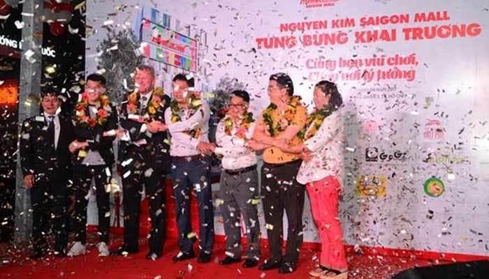 Các thương hiệu cùng bắt tay mừng ngày khai trương Nguyễn Kim Saigon Mall