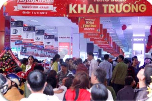 Sự quan tâm, yêu mến và những trải nghiệm mua sắm hiệu quả của người dân khu vực chính là mong muốn của Nguyễn Kim.