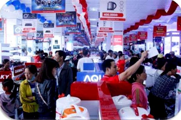 Bên cạnh các thiết bị điện máy, điện lạnh, gia dụng,... chính hãng, TTMS Nguyễn Kim EAKAR còn mang đến cho khách hàng rất nhiều ưu đãi hấp dẫn.