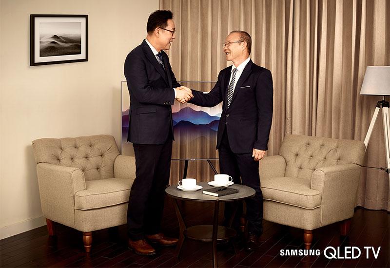HLV Park Hang Seo với nhân cách đẹp cùng những cống hiến to lớn cho nền thể thao nước nhà của ông hoàn toàn xứng đáng với vai trò đại sứ thương hiệu