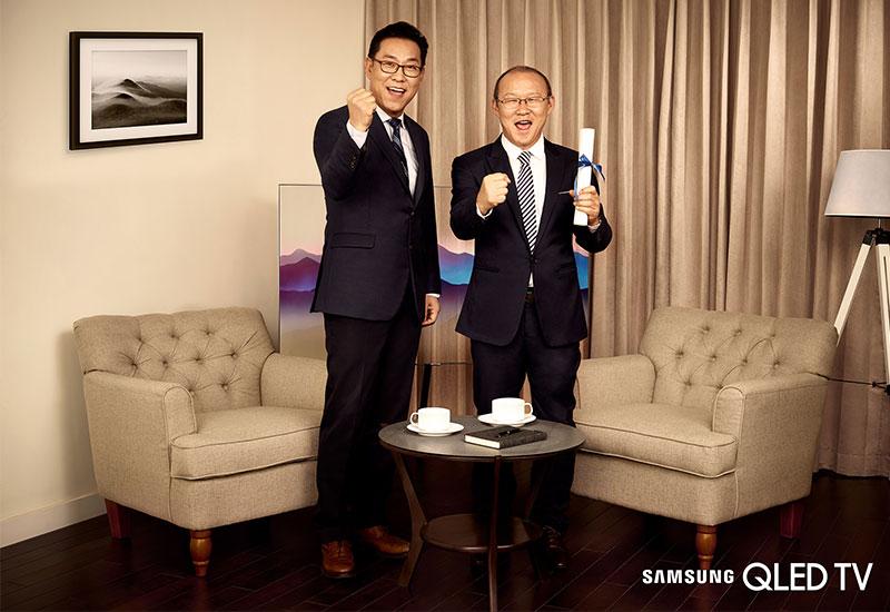 Hy vọng ông Park Hang Seo sẽ làm tốt vai trò đại sứ của mình và Samsung tiếp tục cho ra đời những chiếc tivi hiện đại nhất