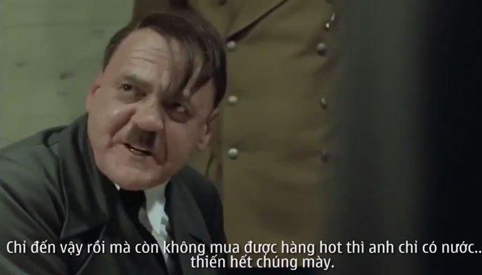 Hitler giao nhiệm vụ cho đàn em mua hàng tại Online Friday
