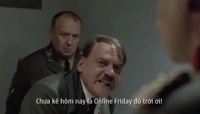 Hitler nhấn mạnh về việc mua hàng nhân dịp Online Friday