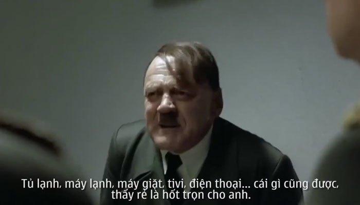 Hitler bắt đàn em phải mua hết đồ dùng gia đình nhân khuyến mãi Online