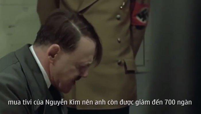 Hitler kể lại chiến tích mua hàng tại Nguyễn Kim