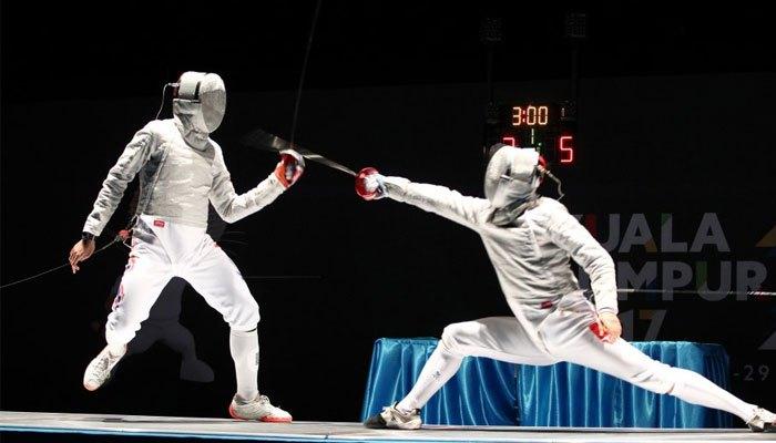 Những đường kiếm tuyệt đẹp của vận động viên Vũ Thành An...