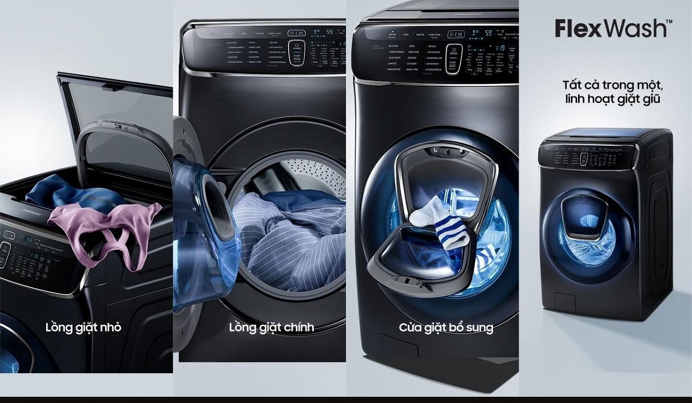 Máy giặt Samsung Inverter 21 kg WR24M9960KV/SV