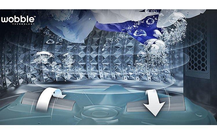 Máy giặt Samsung 8.5Kg WA85M5120SG đánh bay các vết bẩn cứng đầu