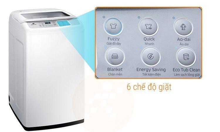 Máy giặt Samsung 8.5Kg WA85M5120SG nhiều chế độ giặt sạch quần áo thông minh
