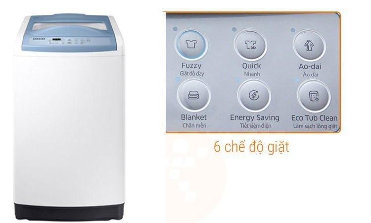 Máy giặt Samsung 8.5Kg WA85M5120SW nhiều chế độ giặt sạch quần áo thông minh
