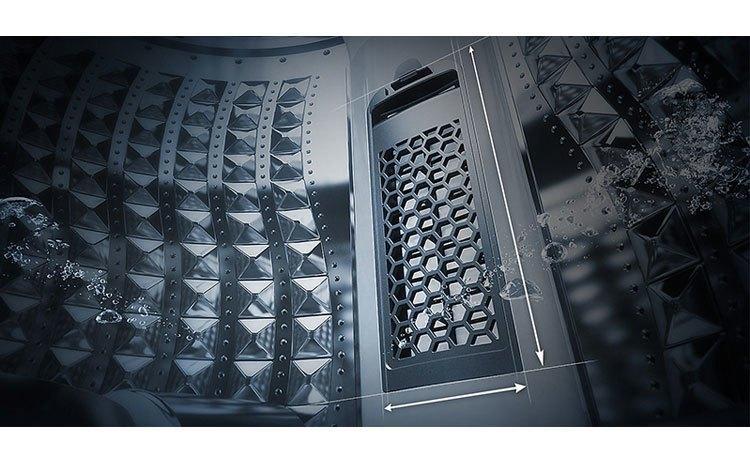 Máy giặt Samsung 8.5Kg WA85M5120SW chăm sóc áo quần luôn sạch đẹp