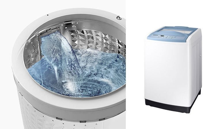Máy giặt Samsung 8.5Kg WA85M5120SW giặt sạch tối ưu, quần áo trắng sạch thơm tho