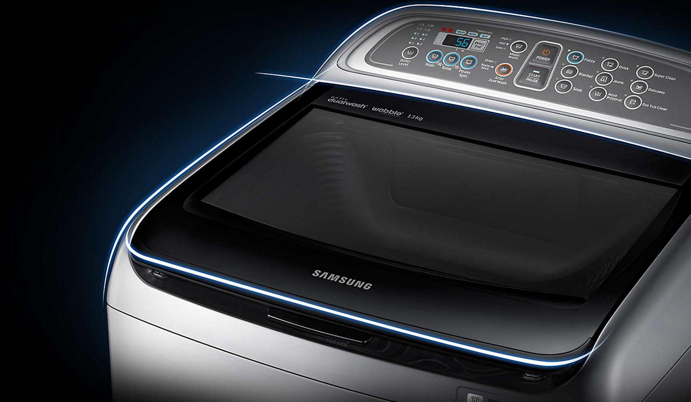Máy giặt Samsung WA90J5710SG 9 kg giảm giá hấp dẫn tại nguyenkim.com