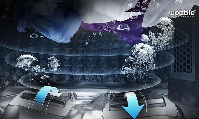 Máy giặt Samsung WA90J5710SG 9 kg có động cơ bền bỉ