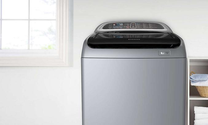 Mua máy giặt Samsung WA90J5710SG 9 kg trả góp 0% tại nguyenkim.com