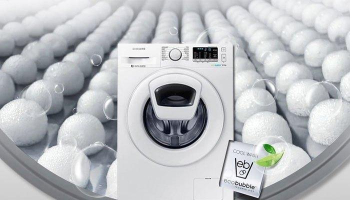 Đánh bật mọi vết bẩn cứng đầu với công nghệ Eco Bubble trên máy giặt Samsung