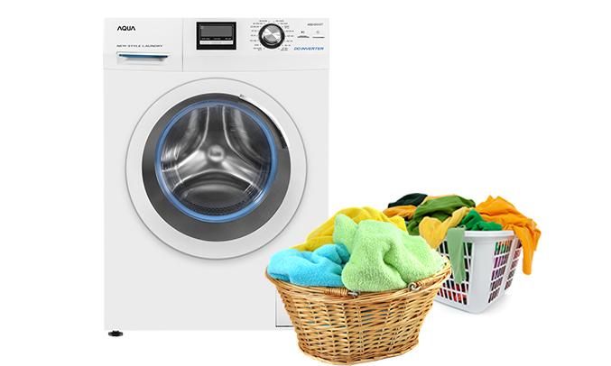 Máy giặt Aqua AQD-D850ZT (W) điều chỉnh nhiệt độ giặt