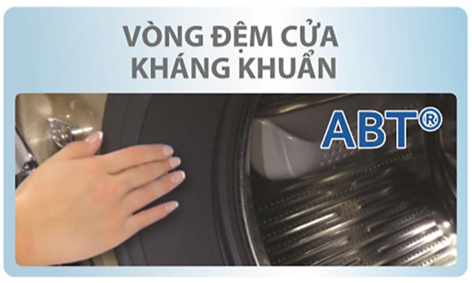 Máy giặt Aqua AQD-D850ZT (W) kháng khuẩn tốt