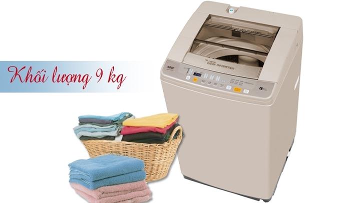 Máy giặt Aqua 9 kg AQW-DQW90ZT máy giặt lồng đứng