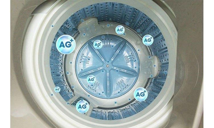 Máy giặt Aqua AQW-FW15AT (S) loại bỏ mọi vi khuẩn bám trên quần áo