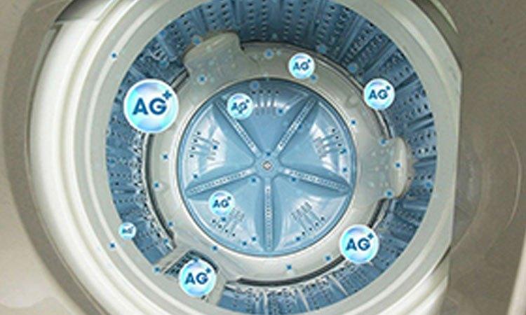 Máy giặt Aqua AQW-FW115AT(S) măm giặt kép hiện đại