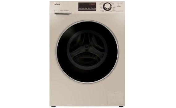 Máy giặt Aqua 8.5 kg AQD-A852ZT (N) màu vàng đồng thiết kế thanh lịch sang trọng, giá tốt tại nguyenkim.com