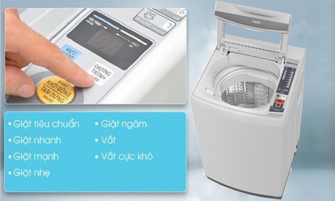 Máy giặt Aqua AQW-S70AT (H) nhiều chương trình giặt